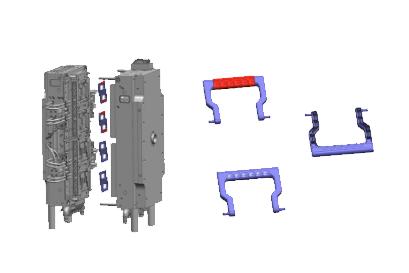 Multi-shot-molds