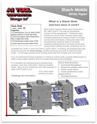 Stack Mold White Paper